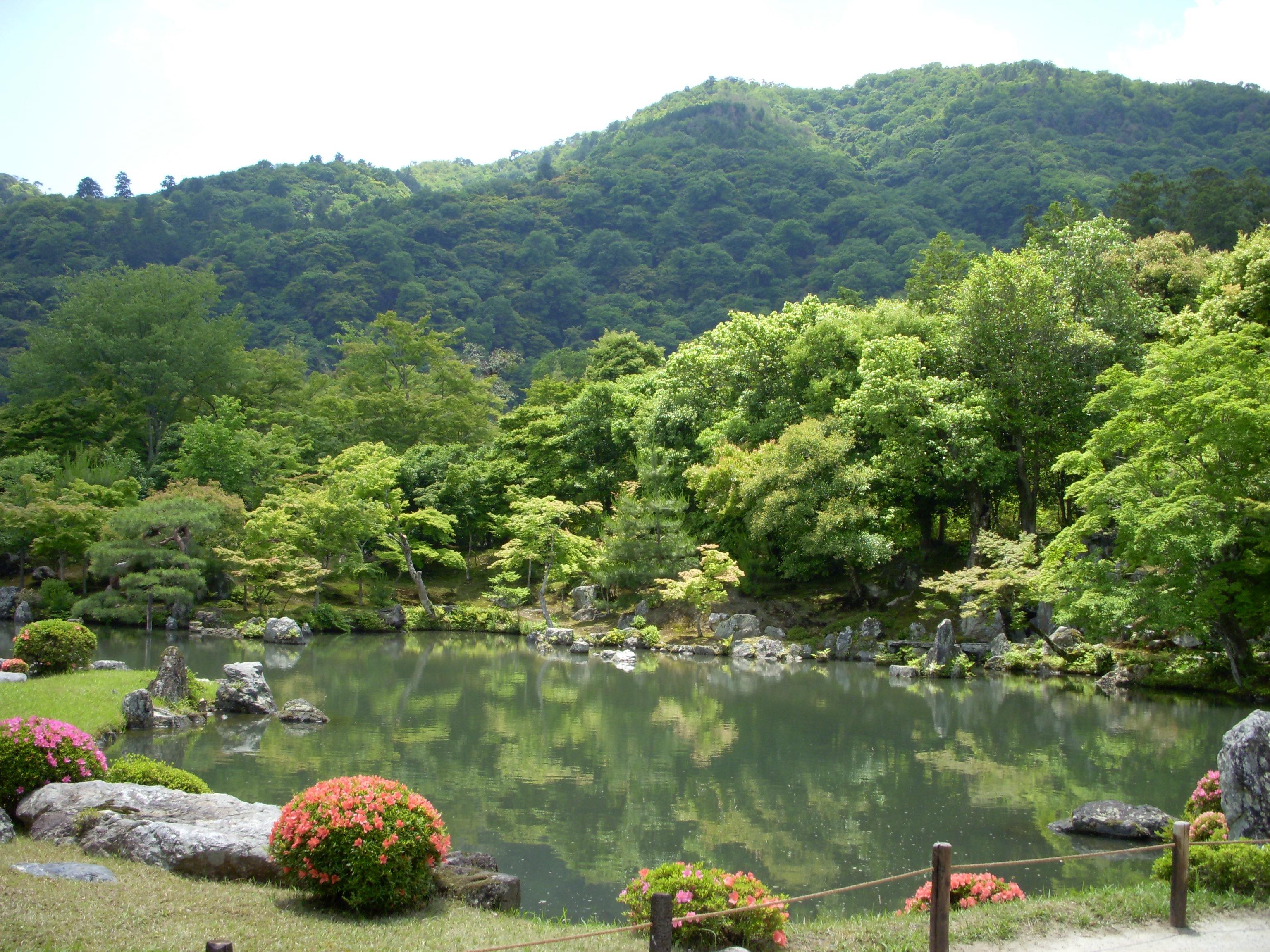 天龍寺庭園