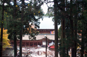 延暦寺の中心地