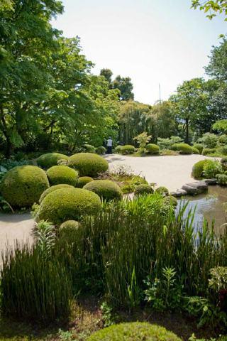 詩仙堂の庭