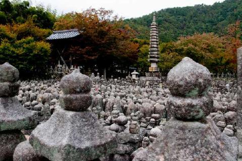 化野念仏寺西院の河原