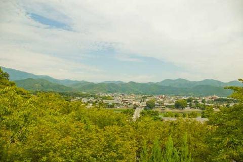 法輪寺からの眺め
