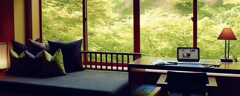星のや京都の客室