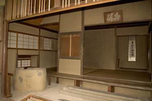 金閣寺の茶室