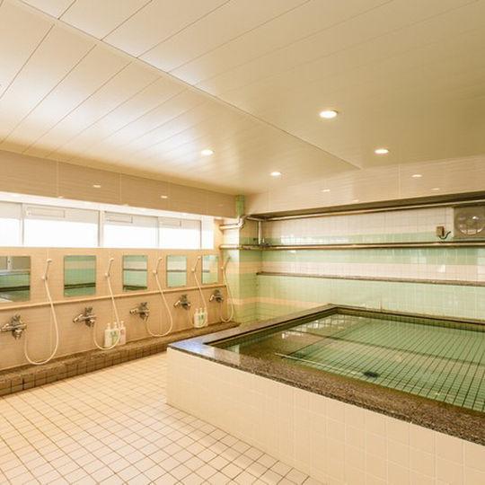 京都シティホテル大浴場