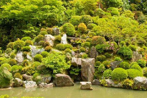 智積院の庭