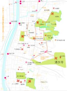 清水寺・東山・祇園エリアのおすすめ散策コース