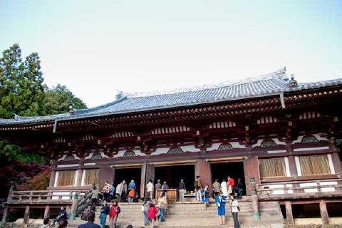 参拝客 神護寺