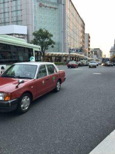 京都のタクシー